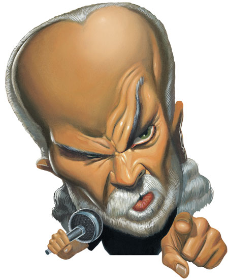George Carlin Caricature